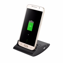 Dual Sync Battery Charger Cradle OTG Dock Station Stand For Samsung Galaxy S3 i9300(China)
