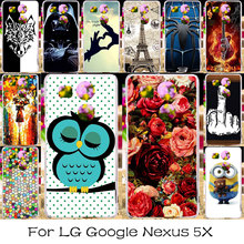 TAOYUNXI Silicone Plastic Phone Case For LG Google Nexus 5X Nexus5X Google Nexus 8 LG Angler H79 H791 H791F H798 H790 Bag Cover(China)