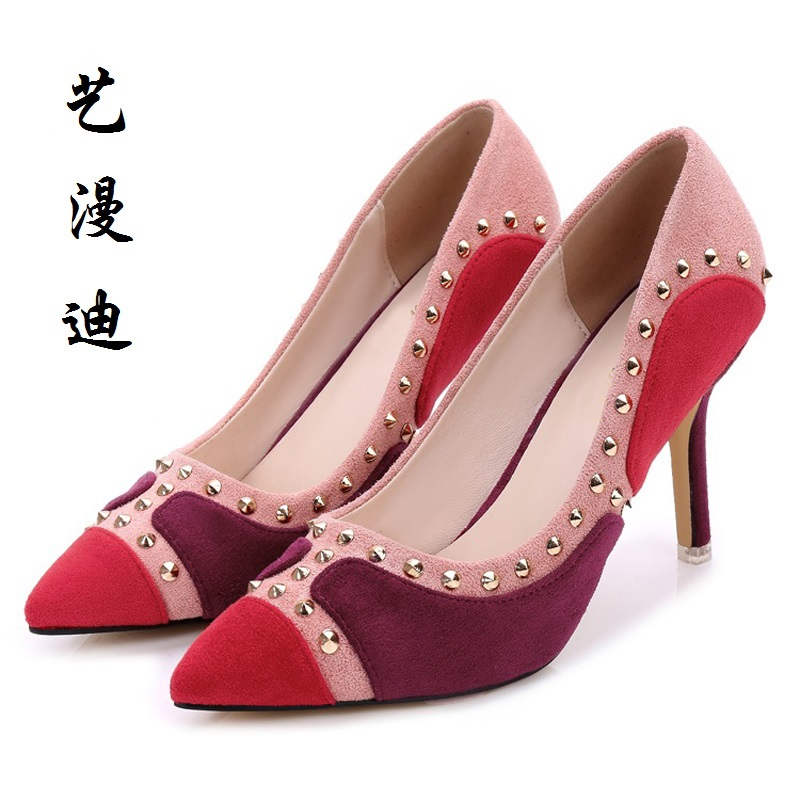 2017 Small Size 31-40 Fashion Sexy High Heels Women Pumps Ladies Office Shoes Woman Wedding Shoes Chaussure Femme Talon 32 33 34<br>