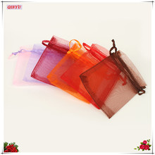50pcs/lot 7CMx9 CM Organza Bags Wedding Pouches Jewelry Packaging Bags Nice Gift Bag New Fashion 8ZSH311-50(China)