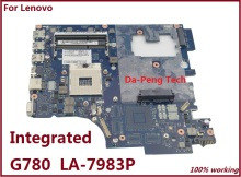 For Lenovo G780 Laptop Motherboard Mainboard Integrated QIWG7 LA-7983P Fully Tested(China)