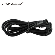 2PIN IP67 Waterproof 2M  Extension Cable LED Light Power Cord 2 Meters Male and Female Connectors Single Color LED lights
