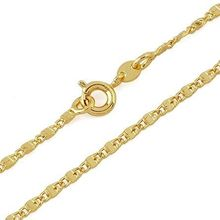 Gold Color Fashion CC Necklaces For Men Jewelry,Link Necklaces, Free shipping(N18K-14)(China)