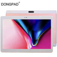 Hot New 10 inch Tablet PC Ocat Core 4GB RAM 64GB ROM Android 4.4 GPS 5.0MP 1280*800 IPS 3G WCDMA Tablet PC Free Shipping(China)