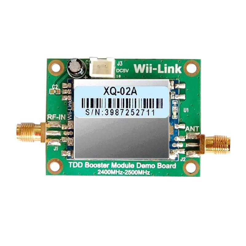 2.4G 2W power amplifier routing signal amplifier wifi/Zigbee Signal enhancement DEMO board<br>