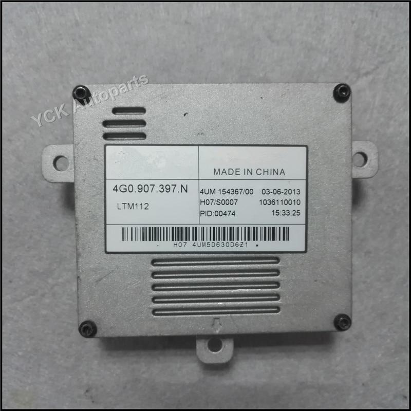 1PC Original CC LED Driver Daytime Running Light  DRL Modul Control Unit 4G0.907.397.N 4G0907397R  4G0907397N (Genuine and Used)<br>