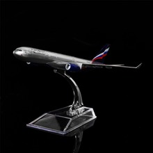 1:400 16cm Aeroflot-Russian Airbus A330 Metal Airplane Model Office Decoration Toy Gift Idea