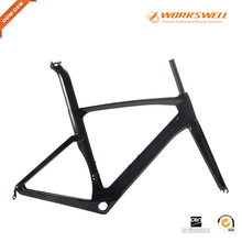 High performance carbon bicycle parts road bike frame BB386 aero carbon bike frame