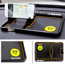 SHDLIFE Car Cell Phone Anti Slip Pad Mat for Mercedes Benz W211 W210 W203 W204 W205 W212 C180 E63 C300 E250 X204 W176 W220 AMG(China)