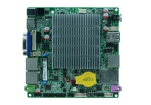 J1900 Processor Quad-Core Intel nuc Motherboard With LVDS linux system(China)
