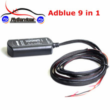 Adblue 9 in 1 NOT NEED ANY SOFTWARE Ad Blue 9in1 Universal Adblue Emulator For 9 Type Trucks Ad-Blue 9-in-1(China)