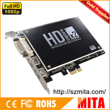 Full HD 1080i HDMI + Component /Composite /S-Video Video Audio L/R Capture Card Pro For DVD/NAS