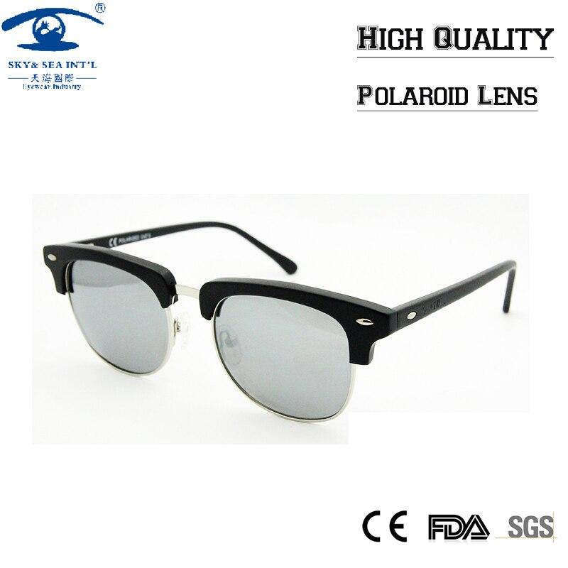 Top Quality Polarized Sunglasses Half Frame Sunglasses Women Classic 1980s Retro Vintage Semi-Rimless Sun Glasses for Women<br><br>Aliexpress