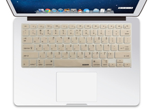 New Arrival US Layout Hebrew Silicone Keyboard Cover Skin for Macbook Air Pro 13/15, wireless keyboard, 5 colors available