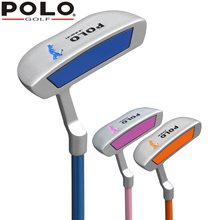 Polo Genuine Junior Club New Golf Children Alloy Putter Kid Beginners Push Rod Golf Girl and Boy 3-12years old Ball Rod Carbon