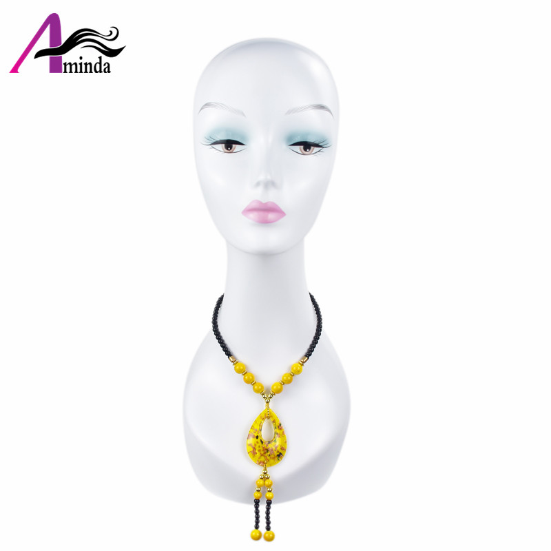 cheap ABS mannequin head wholesale wig jewelry hat dispaly african american mannequin head stand without hair on sale (11)