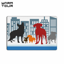 Buy WARM TOUR Dog Non-slip Carpet Welcome Door Mats Indoor Kitchen Entrance Bathroom Living Room Floor Doormat Rug for $14.81 in AliExpress store