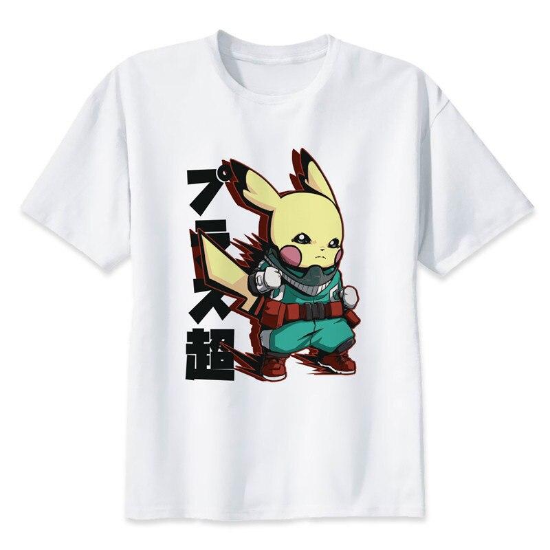 New Arrival My Hero Academia T Shirts Man Short Sleeve Clothing Boku No Hero Academia Funny Cartoon Print T-shirt For Man/woman 6