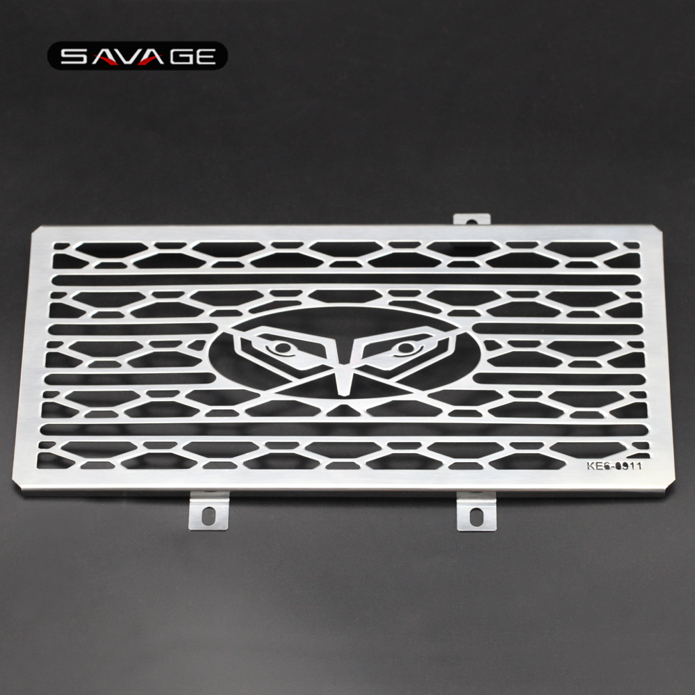 Radiator Grille Guard Cover For KAWASAKI NINJA 650R/400R ER-6N ER-6F ER-4N Motorcycle Accessories Protector Net ER6N ER6F ER4N<br>