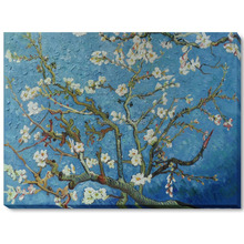 Branches of an Almond Tree in Blossom- Vicent Van Gogh Oil Painting Reproductions 100% Handmade Canvas Wall Art