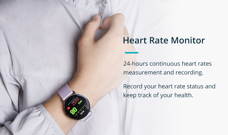 COLMI V11 Smart watch IP67 waterproof Tempered glass Activity Fitness tracker Heart rate monitor BRIM Men women smartwatch 3