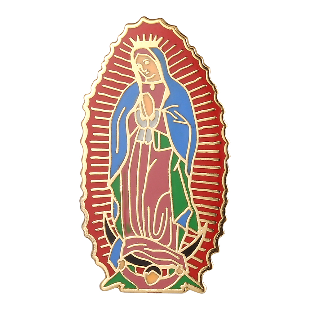Blessed Virgin Mary Lapel Pin Badge Gift