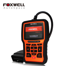 FOXWELL NT510 Full System Car Diagnostic Tool ABS SRS Airbag Crash Data SAS EPB Oil Service Reset For Fiat Ford Mazda Volvo GM(China)