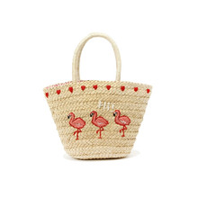 Yesello Natural Weave Straw Handbag Totes Bag New Designer Lady Summer Holiday Bags Pompon Women Basket Shoulder bags(China)