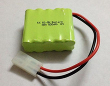 Free shipping 1pcs 12v AAA 800mAh NI-MH battery Rechargeable battery pack(China)