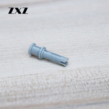 ZXZ 50pcs Cheap Price Technic Connector Peg Cross Hole Compatible With Legoes Technic Parts Connectors(China)