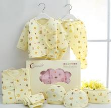 7pcs/set Boutique gift Newborn Baby Set 100% cotton 0-3months infant underwear Grooming & Healthcare Kits,Free Shipping 002