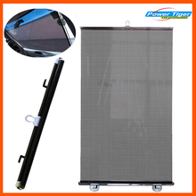 50*125cm Solar film Auto Car Sun Shade Front and Rear Side Window Sun Screen Curtain Solar Protections - Black(China)