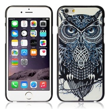 2017 Top selling 1pc Plastic Hot Fashion design Cute Owl Hard Back Case Cover Skin For Iphone 6 Plus 5.5 Inch Very popular nice