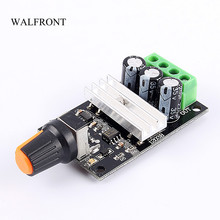 WALFRONT PWM DC 6-28V 3A Motor Speed Controller Regulator Adjustable Variable Speed Control Switch Fan DC Motor Governor Tools(China)