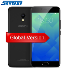 "Meizu M5 4G LTE 2GB RAM 16GB ROM Cell Phone MTK MT6750 Octa Core 5.2"" 2.5D 1280*720 13MP 3070mA Fingerprint ID"