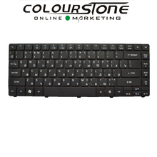 5PCS/LOT New Russia Black Laptop keyboard for ACRE Aspire 3810 3810T 4810 4810T Service Keyboard(China)