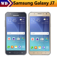 Original Samsung Galaxy J7 J700F J700H Dual Sim Unlocked Cell Phone octa core 2GB RAM 32GB ROM Refurbished