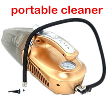 free shipping dual-use super suction 100W NEW Portable wet and dry Car vacuum cleaner(China)