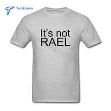 New Teenage Youth It's Not Real T-shirt 2017 Summer Fashion Men Short Sleeves Custom Gorillaz T Shirts Man Leisure Rock Tees(China)