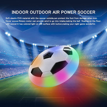 Electric Suspension Footall Air Power Floating Soccer Ball with Soft Edge Colorful Flashing Lights Ball Sports Toys for Children