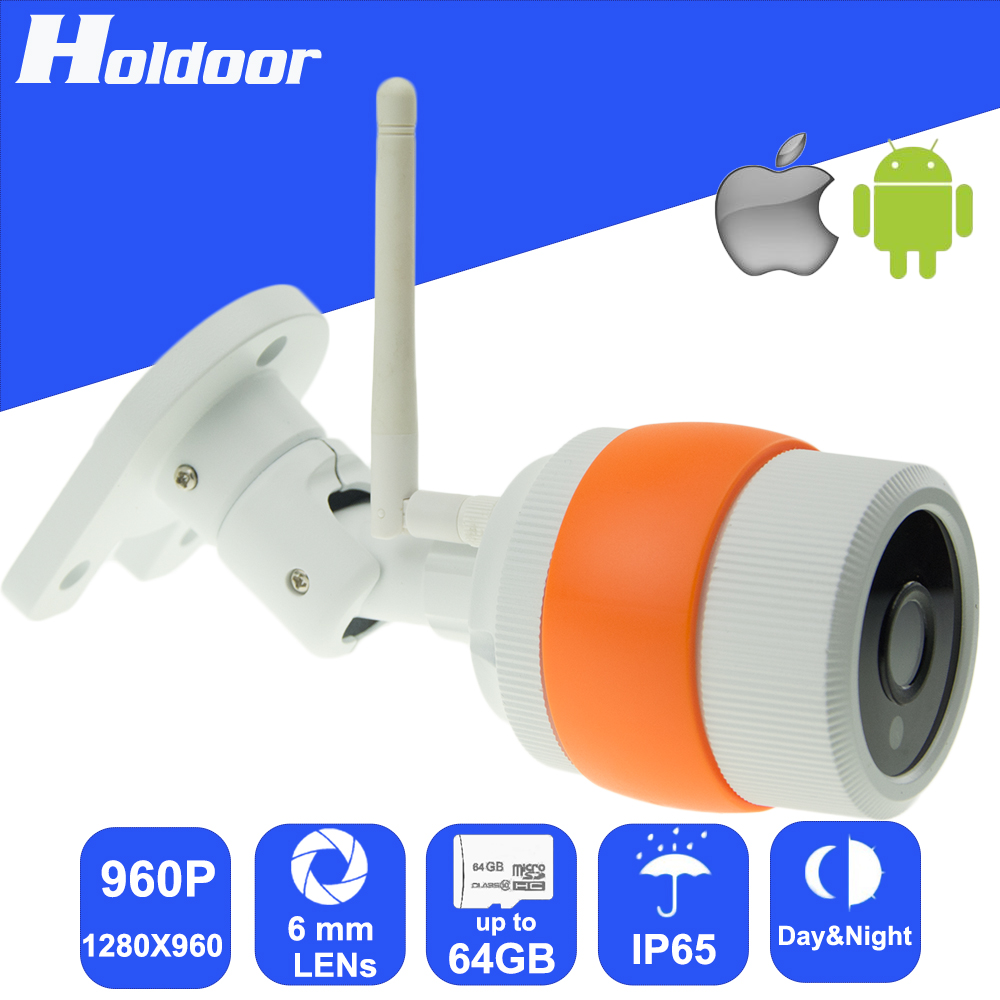 960P 1280x960 6.0mm lens P2P WiFi IP Camera Outdoor Waterproof IR Cut Night Vision Motion Detection Email Alert support TF Card<br><br>Aliexpress