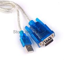 1PCS CH340 Chip USB 2.0 To RS232 RS-232 Converter DB9 COM Adapter Cable 80CM HL-340