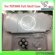 Six Colors New Full Set Housing Shell Case For PSP 3000 With Logo 100% Fit