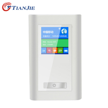 2016 FDD-LTE GSM 4G Wifi Router Portable Global Unlock Dongle Wireless Modem Two SIM Card Slot RJ45 Port 5200 MAh Power Bank(China)