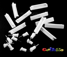 50set Pack White Dustproof Plug & Data Port For iPad 2 / 3 / 4 Tablet Personal Computer Accessories #GLS006D-W