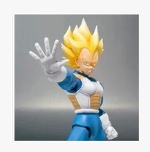 Datong SHF hot sell anime Dragon Ball Z Vegeta Action Figure Model doll toy for boys SSJ3 SSJ super saiyan Vegeta