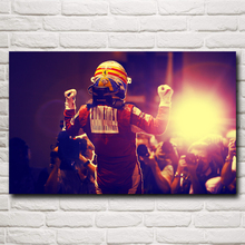 Fernando Alonso Of Spain F1 World Championship Home Decor Pictures Silk Fabric Poster 12x19 15x24 19x30 22x35 Inch Free Shipping(China)