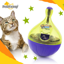 Christmas YEAR Pet Cat Toys Ball Tumbler Dogs Leakage Food Slow Food Toy Cats Play Funny Safety Training Separable Dogs Toys