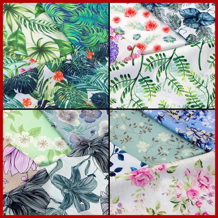 Quilt Cotton Fabric Purple Floral Hydrangea Flower Fat Quarter Half Metre