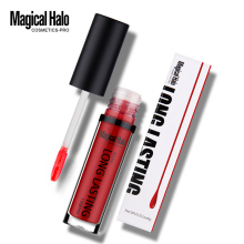Magical Halo 1-24 Colors Lip Palette Makeup Long Lasting Velvet Wine Matte Lip Gloss Batom Liquid Lipstick Lipgloss Pink Up Lip